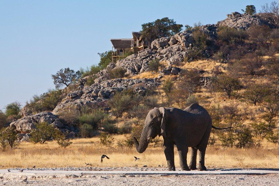 Dolomite Camp Nwr Etosha National Park In Namibia