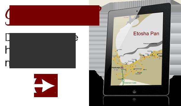 Etosha-Map